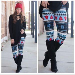 Holiday Print Leggings